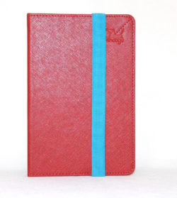 Чехол книжка Snoogy для электронной книги PocketBook 614/615/624/625/626/640 SN-PB6X-RED-LTH