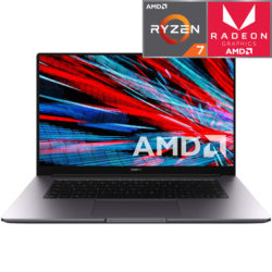 Ноутбук HUAWEI MateBook D 15.6″ (AMD Ryzen 7 3700U 2300MHz/15.6″/1920×1080/8GB/512GB SSD/AMD Radeon RX Vega 10/Windows 10 Home) Space Grey