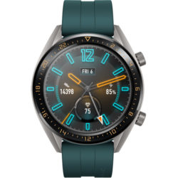 Смарт-часы Huawei Watch GT Active Titanium Grey, рем. Dark Green