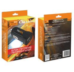 Блок питания автомобильный 1 USB FaisON FS-Z-409 1500mA пластик чёрный