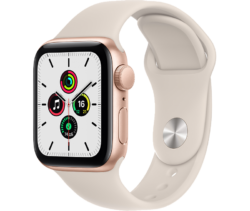 Умные часы Apple Watch SE, 40 мм, розовое золото (MKQ03RU/A)